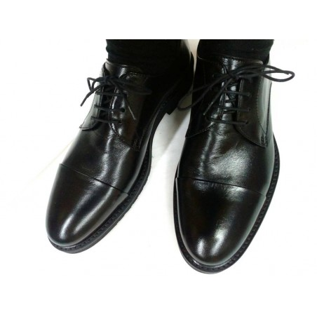 scarpe uomo classiche comode in pelle nero made in Italy