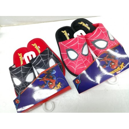 Pantofole SPIDERMAN rosse e nere