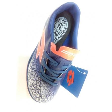 scarpe calcetto bambino lotto colore blu